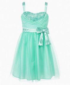 fancy dresses for girls 7-16 | Ruby Rox Girls Dress, Girls Tulle Sequin Dress - Kids Girls 7-16 ...