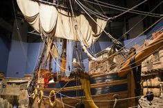The Nonsuch at the Manitoba Museum, Winnipeg, Manitoba O Canada, Canada Travel, People Around The World, Around The Worlds, All About Canada, Bateau Pirate, Discover Canada, Fur Trade, Beautiful Sites