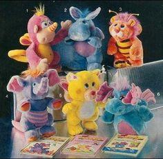 Wuzzles! I loved them. Had the elephant