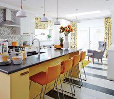 kitchen-makeover-sarah-richardson-island-cabinets-yellow