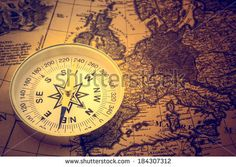 Old Compass Stock Photos, Old Compass Stock Photography, Old Compass Stock Images : Shutterstock.com