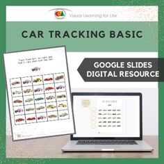 This digitally interactive resource is designed for use with Google Slides. This resource contains 20 slides in total. Answer sheets are included.The student must find all the cars that look the same as the example at the top of the page, and drag the circles to mark the correct answers.