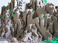 lego mountain - Google Search