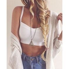 Perfect spring look | Teen Tumblr girl Fashion | Pinterest ❤ liked on Polyvore featuring beauty products, haircare, hair styling tools, pictures, hair, icons, outfits and icon pictures
