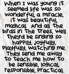Supertramp - The Logical Song - great words!!