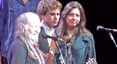 Country Music Lyrics - Quotes - Songs Willie nelson - Willie Nelson, With His Son