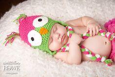 Sweet little owl hat