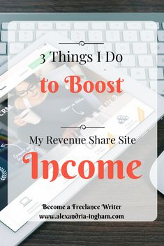 Do you keep hearing the revenue share doesn't work? Here are three steps I've taken to boost my rev share income. You can make money online with it if you work hard.