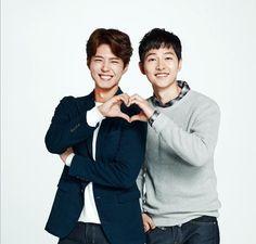 song joong ki & park bo gum ^^