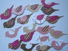 paper wedding bird table card - Google Search