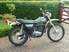The first bike I owned was a Yamaha DT360 Enduro. I bought it while preaching a revival in Eastman, GA. dlm