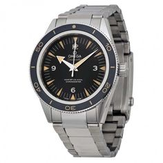 Omega Seamaster 300 Automatic Black Dial Stainless Steel Men's Watch 23330412101001 - Seamaster - Omega - Shop Watches by Brand  - Jomashop