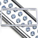 Bling L Sapphire Swarovski Crystal License Plate Frame at Styles2you.com