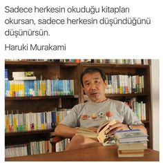 - I wonder. a lot. Meaningful Sentences, Good Sentences, Meaningful Words, Poetry Quotes, Book Quotes, Life Quotes, Famous Quotes From Literature, Haruki Murakami, Good Books