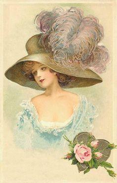 Antique ladies images, imagenes de damas antiguas on Pinterest ...