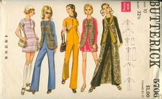 vintage 1970s Day ensemble ~ I'd rather dress in any era but the present one :)