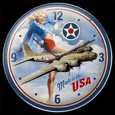Made in the USA - Clock, Greg Hildebrandt