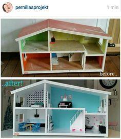 SÅ fint dukkehus