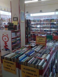 Encuentra grandes ofertas  Como 3 libros por 2 €  3 libros por 5 €  Es posible en Calle Matadero nº8 Alcorcón, Madrid