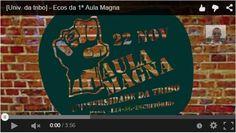 [Vídeo no Tumblr] - http://jorgeparracho.com/r/tbEcosdaAulaMagna  Ecos da 1ª Aula Magna  Pequeno vídeo que resume um pouco o nosso espírito e o que fazemos.  Ver o Vídeo ==> http://jorgeparracho.com/r/tbEcosdaAulaMagna