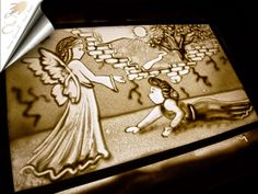 Sand Art, fairy