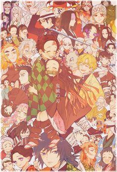 Read Kimetsu No Yaiba / Demon slayer full Manga chapters in English online! Demon Slayer, Slayer Anime, Fanarts Anime, Anime Characters, Anime Love, Kawaii, Animes Wallpapers, Anime Demon, Doujinshi