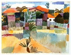 Klee - St Germain near Tunis 1914