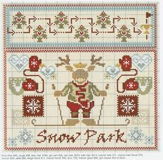 Cross Stitch *<3* Christmas Snow