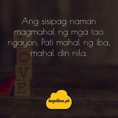 Tagalog Love Quotes - May Nagugustuhan ka ba ngayon? Love Quotes For Her, Quotes For Him, Filipino, Love Qutoes, Tagalog Love Quotes, Hugot Lines, Line Love, English Translation, Text Messages