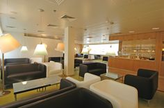 The ICare Lounge at France Paris - Orly South Terminal