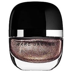 Marc Jacobs Beauty Enamored Hi-Shine Nail Lacquer in 140 Petra - dirty bronze metallic shimmer #sephora