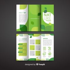 Flugblatt Design, Food Graphic Design, Page Layout Design, Graphic Design Brochure, Brochure Layout, Graphic Design Inspiration, Powerpoint Design Templates, Brochure Template, Standing Banner Design