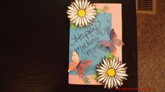 Mother's day card I made