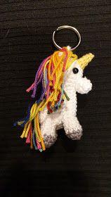 Einhorn Amigurumi Schlüsselanhänger Unicorn 2 Baby, Christmas Ornaments, Holiday Decor, Amigurumi, Unicorn, Xmas Cards, Creative, Crafting, Christmas Jewelry