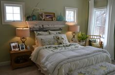 Serene and calming country bedroom design idea from Staging Concepts  Designs,LLC