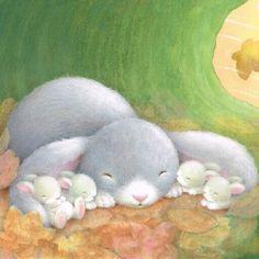 bunnies - Alison Edgson