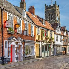 Reposting ~The cobbled street of Elm Hill, Norwich in Norfolk~ Photo: ・・・ Norwich England, Norwich Norfolk, Norfolk England, England Ireland, England And Scotland, London England, Visit Britain, Britain Uk, Norwich Cathedral