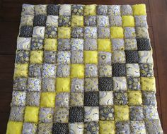 Puff Quilt Tutorial for Beginners from danandtes.blogspot.com. @Terry Van Gorkom, here's a tutorial on the puffs for the puff quilt. This blogger has now set their blog to  invitation only. :-/