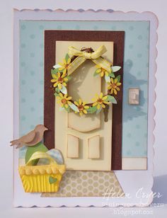 Sizzix Easter Card