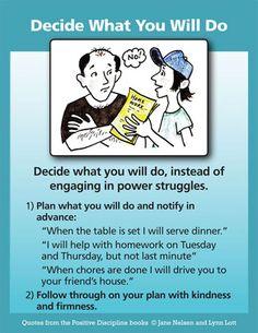 Decide What You Do