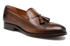 Classic Mens Two Tone Dark Brown Leather Oxfords Tassels Moccasin Formal Shoes Material:<br /> Dress With Boots, Dress Shoes, Ascot Shoes, Gentleman Shoes, Loafer Shoes, Oxfords, Men's Shoes, Mens Fashion Shoes, Men's Fashion