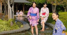 แช่น้ำร้อน ย้อนยุคที่ Oedo Onsen Monogatari - Chill Chill Japan Go To Japan, Chill, Kimono Top, Women, Women's