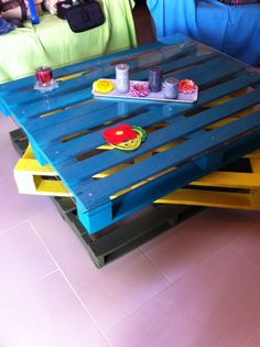 DIY: How to Turn Pallets into a Coffee Table