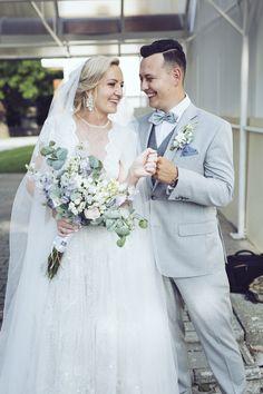 wedding bouquet blue Wedding Bouquets, Lace Wedding, Wedding Dresses, Weddings, Blue, Fashion, Bride Dresses, Moda, Bridal Gowns