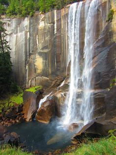 Yosemite. A special thanks to John Martin, who pins the most awesome waterfalls!  Thank you, John!