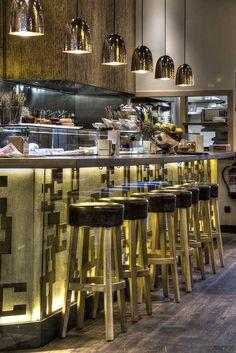 Restaurant Bilbao Berria - Barcelona, Spain designed by Dissenya2 - Arquitectura