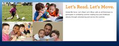 Let's #Read Lets #Move - see what you can do in your #community #letsread #letsmove #kids #families #schools
