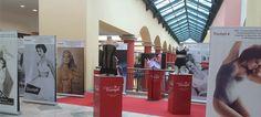 Evolução do soutien em exposição no Forum Montijo