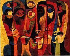 """Voces.: """"Mi pintura."""" Oswaldo Guayasamín."""