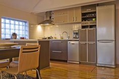 #Kitchen Idea of the Day: A small single-wall kitchen